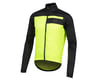 Image 1 for Pearl Izumi Elite Escape Barrier Jacket (Black/Screaming Yellow) (L)
