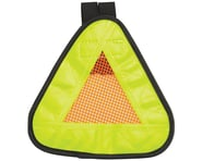 """Aardvark Reflective Triangle Yield Symbol (7 x 7"""") (w/ Velcro Strap) 