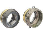 Campagnolo Power-Torque Bottom Bracket Cups (Silver) (Italian)   product-related