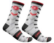 Castelli Men's Transition 18 Socks (White)   product-related