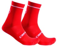 Castelli Entrata 13 Sock (Red) | product-also-purchased