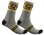 Castelli Prologo 15 Sock (Bark Green) | product-related
