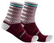 Castelli Avanti 12 Sock (Bordeaux/Ivory) | product-also-purchased