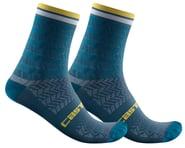 Castelli Avanti 12 Sock (Storm Blue)   product-related
