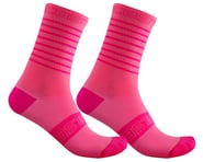 Castelli Superleggera 12 Women's Sock (Pink Fluo) | product-related