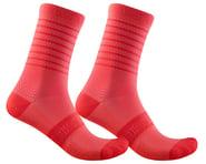 Castelli Superleggera 12 Women's Sock (Brilliant Pink) | product-related