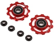 CeramicSpeed Shimano 11-Speed Pulley Wheels (Red) (Alloy) | product-related