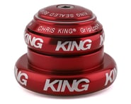 """Chris King NoThreadSet Tapered Headset (Red) (1-1/8"""" to 1-1/2"""") 