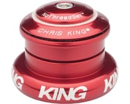 """Chris King InSet 7 Headset (Red) (1-1/8"""" to 1-1/2"""") 
