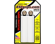 ESI Grips Racer's Edge Silicone Grips (White) (30mm) | product-related