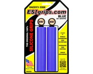 ESI Grips Racer's Edge Silicone Grips (Blue) (30mm) | product-related