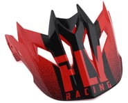 Fly Racing Default Visor (Red/Black) | product-related