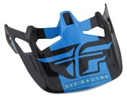 Fly Racing Werx Imprint Visor (Black/Blue) | product-related