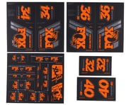 Fox Suspension Heritage Decal Kit (Orange)   product-also-purchased