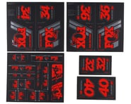 Fox Suspension Heritage Decal Kit (Red)   product-related