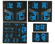 Fox Suspension Heritage Decal Kit (Blue)   product-related