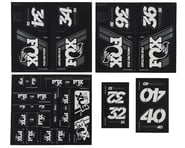 Fox Suspension Heritage Decal Kit for Forks & Shocks (White) | product-related