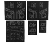 Fox Suspension Heritage Decal Kit for Forks & Shocks (Stealth) | product-related