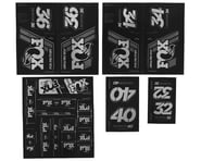 Fox Suspension Heritage Decal Kit for Forks & Shocks (Silver) | product-also-purchased