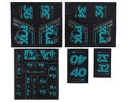 Fox Suspension Heritage Decal Kit for Forks & Shocks (Turqoise) | product-also-purchased