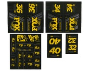 Fox Suspension Heritage Decal Kit for Forks & Shocks (Yellow) | product-related