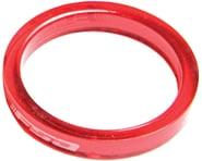 """FSA PolyCarbonate Headset Spacers (Red) (1-1/8"""") (10) 