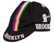 Giordana Brooklyn Cap w/ Stripes (Black) (One Size Fits Most) | product-related