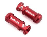 Granite-Design Juicy Nipples Presta Valve Core Remover Caps (Red) (2) | product-related
