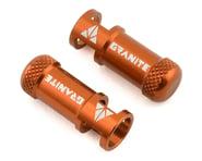Granite-Design Juicy Nipples Presta Valve Core Remover Caps (Orange) (2) | product-related