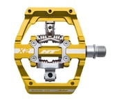 HT X2 Clipless Platform Pedals (Gold) (Chromoly) | product-related