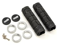 ODI Rogue Lock-On Grips (Black/Silver) (Bonus Pack) | product-related