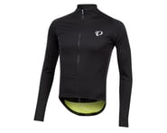 Pearl Izumi PRO Pursuit Long Sleeve Wind Jersey (Black/Screaming Yellow) | product-related