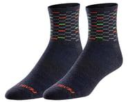 Pearl Izumi Merino Wool Socks (Navy Dash) | product-related