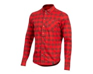 Pearl Izumi Rove Long Sleeve Shirt (Torch Red/Russet Plaid) | product-related