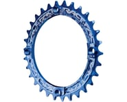 Race Face Narrow-Wide Single Chain Ring (104 BCD) (Blue) | product-also-purchased