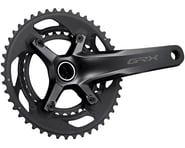 Shimano GRX FC-RX600 Crankset (Black) (2 x 10 Speed) (Hollowtech II) | product-related