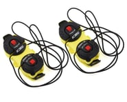 Sidi Shot/Tiger Double Tecno-3 Push Closure System (Yellow/Black) (Pair) | product-also-purchased