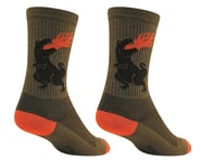 """Sockguy 6"""" Wool Socks (Dinosaur)   product-also-purchased"""