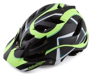 Troy Lee Designs A1 MIPS Youth Helmet (Welter Black/Green) | product-related