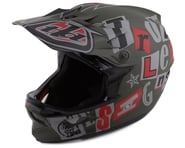 Troy Lee Designs D3 Fiberlite Full Face Helmet (Anarchy Olive) | product-related