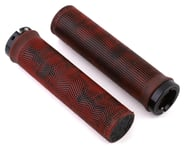 Truvativ Descendant Lock-On Grips (Red/Black Marble) | product-related