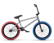 "We The People 2021 Battleship BMX Bike (20.75"" Toptube) (Glossy Raw) | product-related"