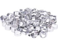 """Wheels Manufacturing Bulk Headset Spacers (Silver) (1-1/8"""") (Bag of 100)   product-related"""
