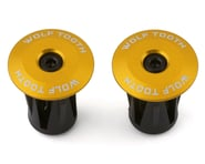 Wolf Tooth Components Alloy Bar End Plugs (Gold) | product-also-purchased