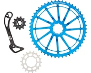 Wolf Tooth Components WolfCage Combo Pack (Blue) (49T Cog & 18T Cog) | product-related