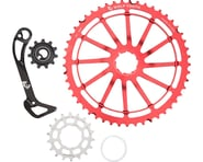 Wolf Tooth Components WolfCage Combo Pack (Red) (49T Cog & 18T Cog) | product-related