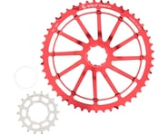 Wolf Tooth Components GC49 (Red) (49T & 18T Cogs) (For SRAM NX Cassettes) | product-related