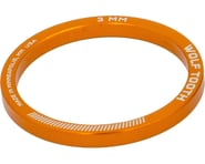 """Wolf Tooth Components 1-1/8"""" Headset Spacer (Orange) (5) 