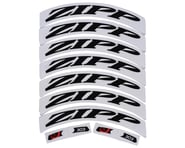 Zipp Decal Set (303 Matte Black Logo) (Complete for One Wheel) | product-related