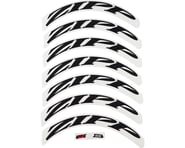 Zipp Decal Set (808 Matte Black Logo) (Complete for One Wheel) | product-related